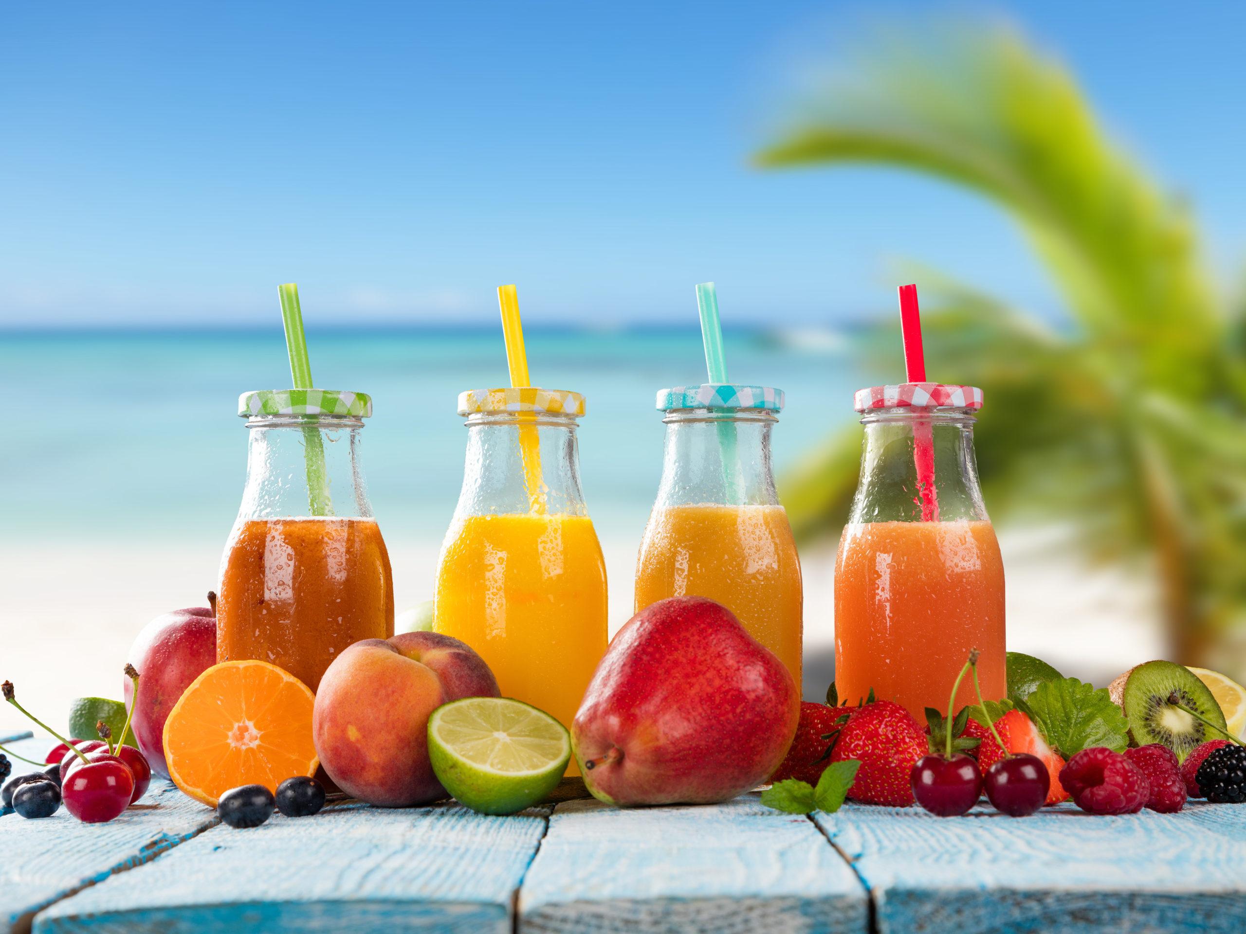 Juices orange